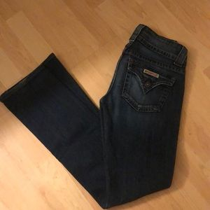 Hudson Flared Leg Jeans Size 25